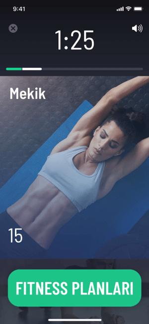 30 Günlük Evde Fitness Program Screenshot