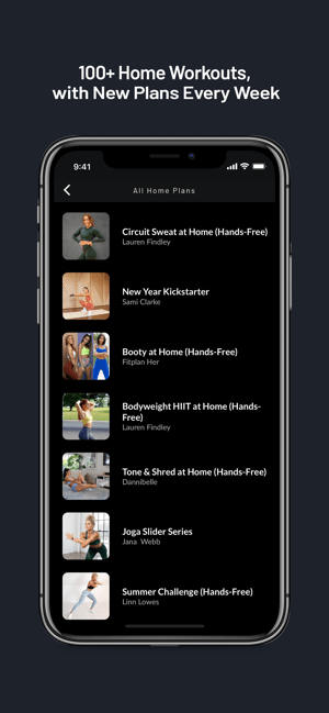 ‎Fitplan: Gym & Home Workout Screenshot