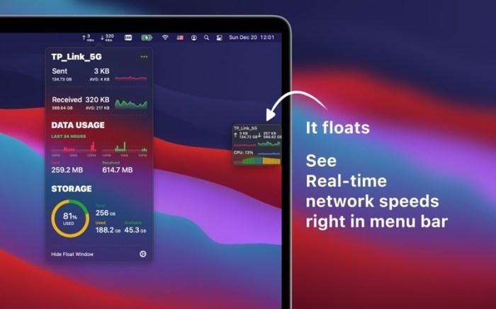 Network & Battery Screenshot 01 1353w1n