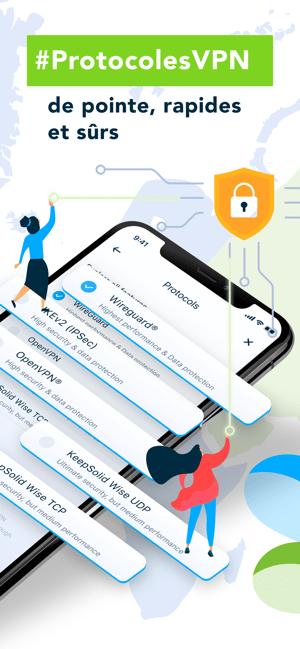 VPN Unlimited avec DNS Shield Capture d'écran