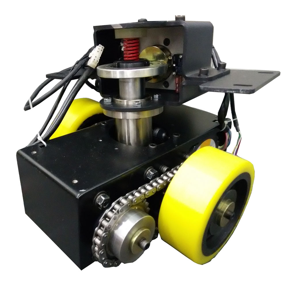 hight resolution of tzbot polyurethane wheel motor drive wheel assembly gearbox motor system agv drive unit