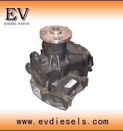 isuzu engine parts water pump 10pe1 10pc1 10pb1 10pa1 engine water pump [ 900 x 900 Pixel ]