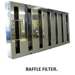 Kitchen Hood Filters Bar Height Table Sets Baffle Grease Stop