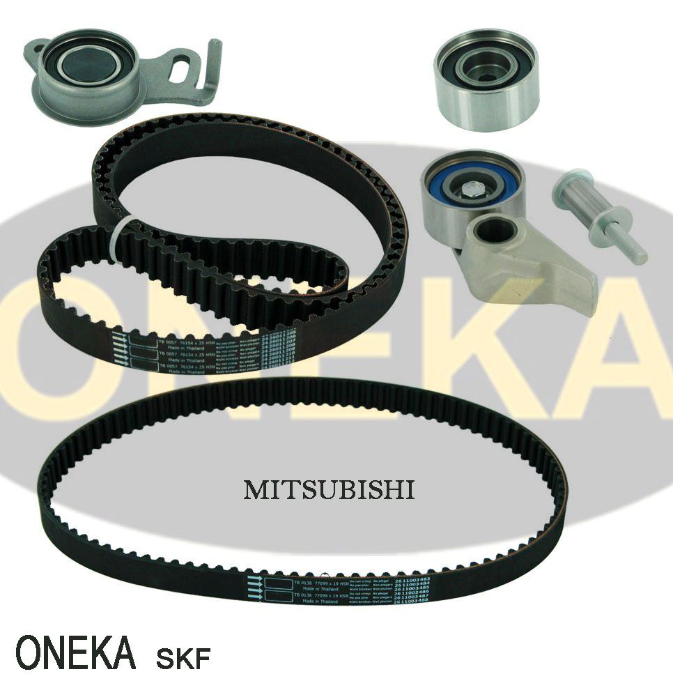 hight resolution of kit vkm75676 timing belt kit for mitsubishi