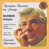 Leonard Bernstein & New York Philharmonic - Barber's Adagio and other Romantic Favorites for Strings  artwork