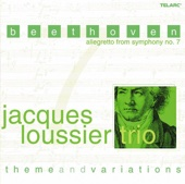 Jacques Loussier Trio - Beethoven: Allegretto from Symphony No. 7 (theme and Variations - Arrangements By Jacques Loussier)  artwork