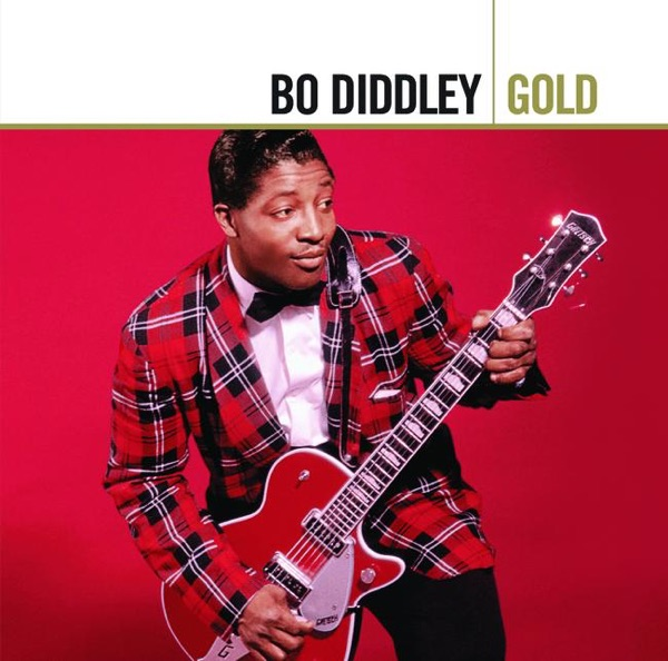 Gold Bo Diddley Album Cover by Bo Diddley