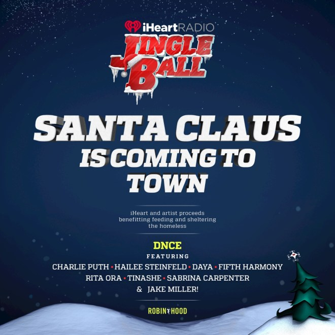 DNCE - Santa Claus Is Coming to Town (feat. Charlie Puth, Hailee Steinfeld, Daya, Fifth Harmony, Rita Ora, Tinashé, Sabrina Carpenter & Jake Miller) - Single