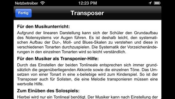 Transposer Screenshot