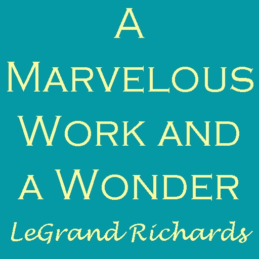 Wonder Marvelous Work And