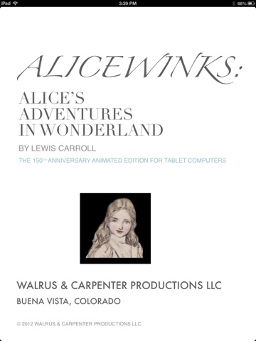 Alicewinks by Lewis Carroll, Mabel Lucie Attwell, Bessie