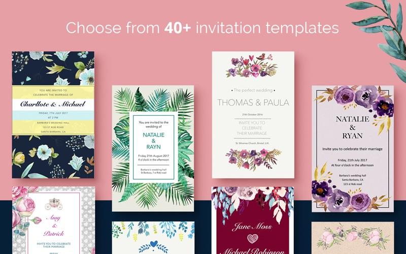 Screenshot 4 5 Wedding Invitations