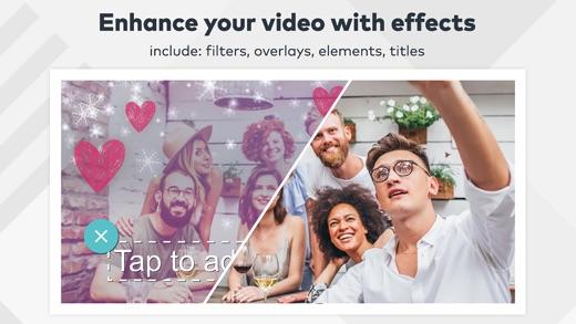 FilmoraGo - Editor de vídeo gratuito Screenshot