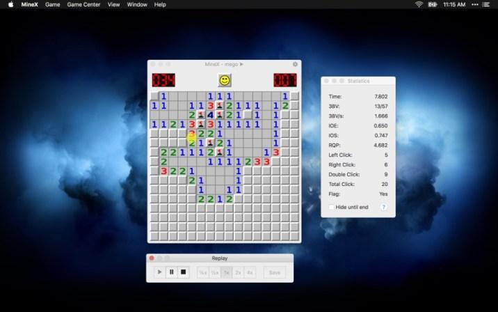 MineX (Minesweeper) 1.3.2 MAC