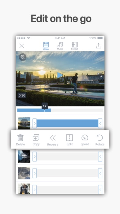 Filmr - Easy Video Editing Screenshot