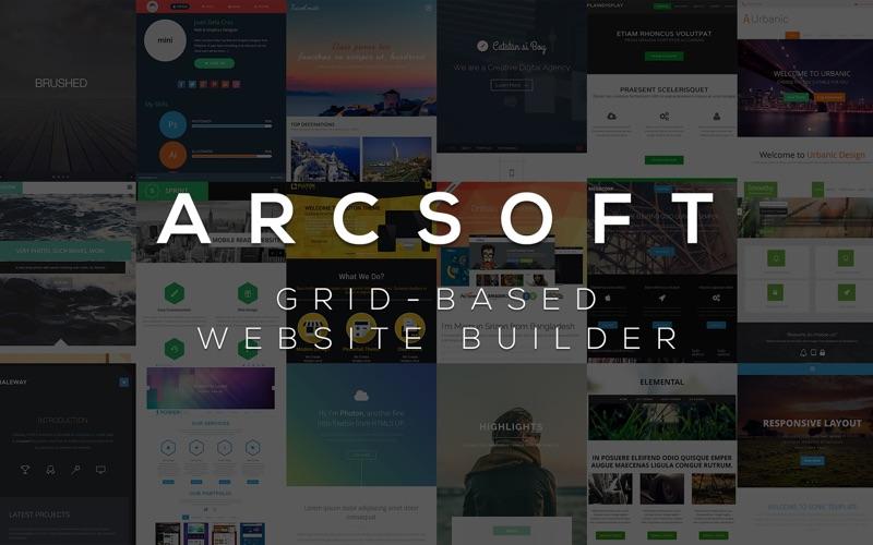 ARCSOFT™ – Website Builder for Mac 1.4 破解版 - 网站制作与设计软件