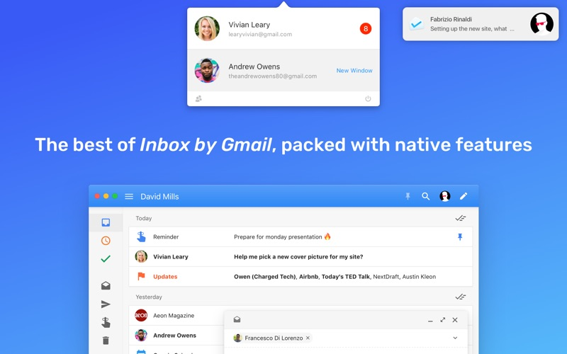 """Boxy for """"Inbox by Gmail"""" Screenshot"""