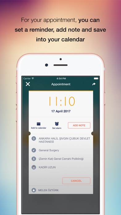CDAS Mobile Screenshot