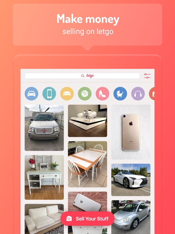 letgo: Buy & Sell Secondhand Screenshot