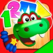 Dino Tim: Basic math games, preschool activities