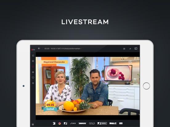 7TV - Mediathek, TV Livestream Screenshot