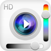 VIDEO HD+ (Video camera with saturation and light amplifier regulation mode)