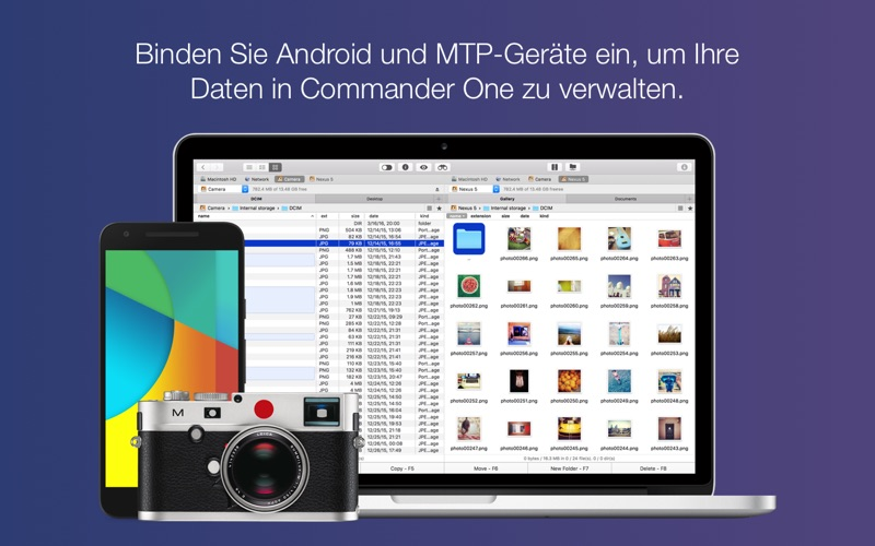 Commander One PRO - FTP Client, RAR/7zip Extraktor Screenshot