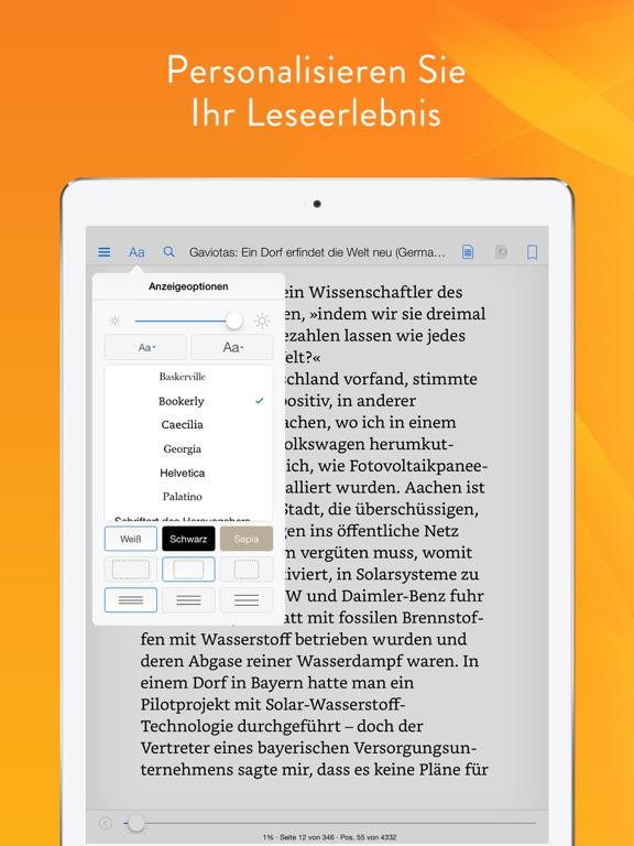 Kindle Screenshot