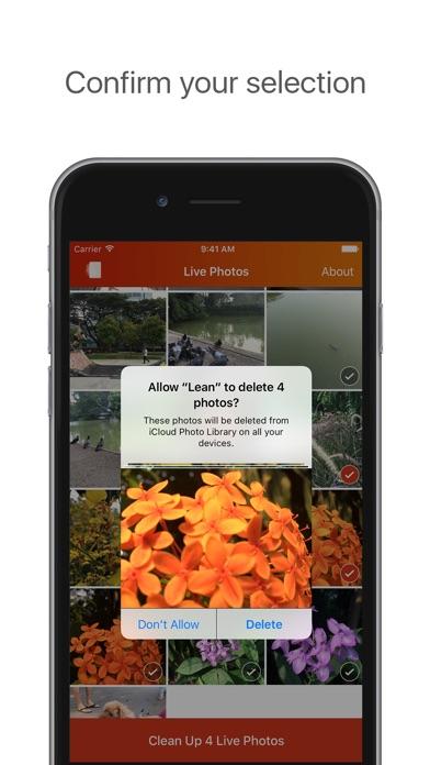 Lean - Clean up your Live Photos Screenshot