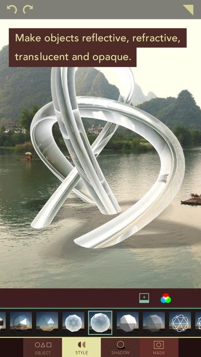 Matter - Create and design 3D effects with photos Screenshot