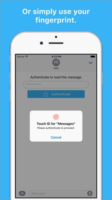 Secretly Messaging Screenshot