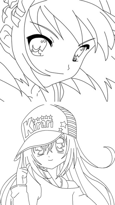 Coloring Pages For Anime by Jitesh S