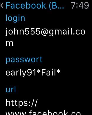 SafeInCloud Screenshot