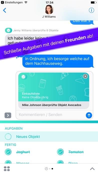 Do With Me - Aufgabenlisten mit deinen Freunden te Screenshot