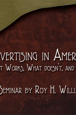 Advertising in America: What Works, What Doesn't, and Why (Unabridged) - Roy H. Williams