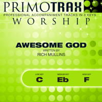 Our God Is An Awesome God (Low Key 'C' Vocal Demonstration Track) Primotrax Worship