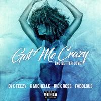 Got Me Crazy (No Better Love) [feat. K. Michelle, Rick Ross & Fabolous] - Single - DJ E-Feezy mp3 download