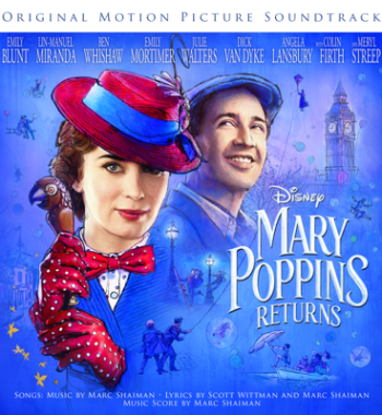 A Cover Is Not the Book - Emily Blunt, Lin-Manuel Miranda & Company - Mary Poppins Returns