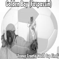 France Croatia World Cup Final Golden Boy (Fospassin)