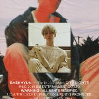BAEKHYUN - City Lights - The 1st Mini Album - EP artwork
