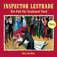Inspector Lestrade - Ein Fall für Scotland Yard: Rot wie Blut artwork