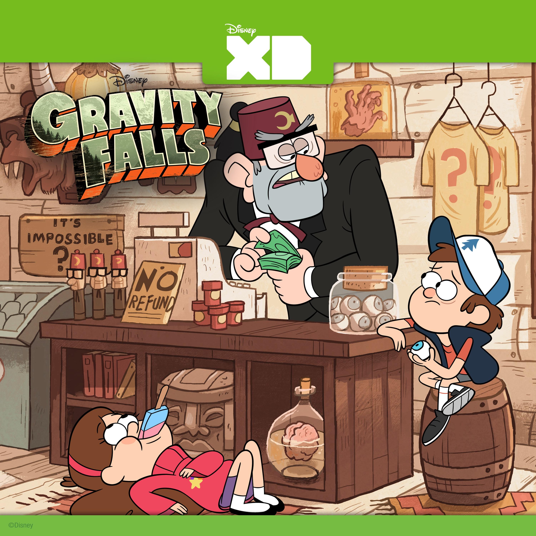 Gravity Falls Dipper And Wendy Wallpaper Gravity Falls Vol 2 On Itunes