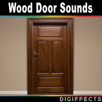 Front Wood Door Open and Close from External Digiffects Sound Effects Library