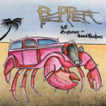 Pink Crustaceans and Good Vibrations - Pepper
