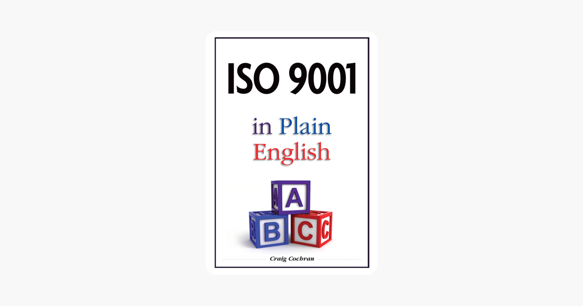 ISO 9001 in Plain English on Apple Books
