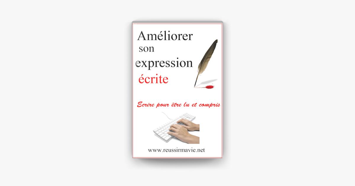 Améliorer son expression écrite sur Apple Books