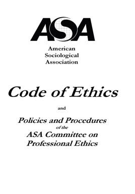 ASA Code of Ethics on Apple Books