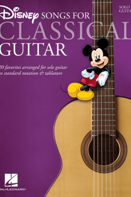 Disney Songs for Classical Guitar (Songbook) - Various Authors