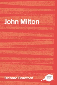 John Milton - Richard Bradford pdf download