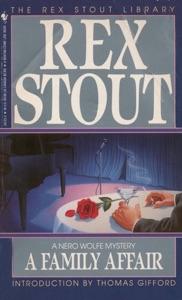 FAMILY AFFAIR - Rex Stout pdf download